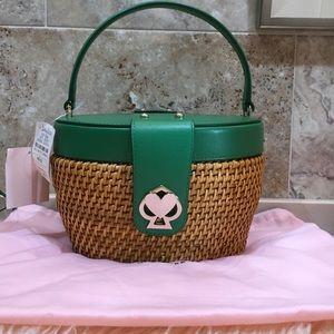 Kate Spade Rose Medium Basket